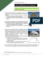LD5 Resolución de problemas-Cónicas