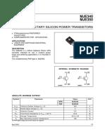 MJE340 Power Transistor
