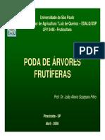 PODA DE  ARVORES FRUTIFERAS