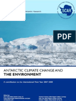 Antarctic Climate Change and the Environment (ACCE) Nov 2009