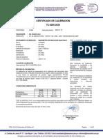 TC 0266 0168AT1 4 MANOMETRO 3000 psi OIL FLUSH S.A.C.