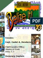 Military Engineer Conference - 2011 Belize Presentation (Revised)