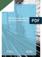 DIRECTRICES FERIAS DE ARTESANIAS