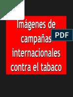 campaña contra el tabaco en el mundo