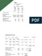 Ejemplos Costo por Procesos UTNT IV