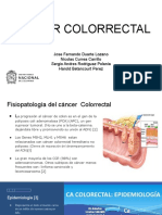 Farmacoterapia cancer colon y recto