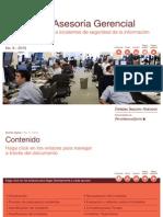 Monitoreo y respuesta a incidentes de seguridad de la información | PwC Venezuela
