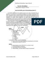 COVID-19 Manual de Bolsillo Para El Dermatólogo (Parte 1)