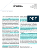 [Editorial 01] Muller _ Klein (2018) Types of Contributions Preferred by PMJ