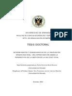 TESIS FACTORES DETERMINANTES DE LA INNOVACIÓN ORGANIZACIONAL
