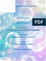 ACTIVIDAD 1 ESTRATEGIAS DE DISTRIBUCIÓN Y LOGISTICA