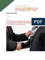 CORRUPCION  E IMPUNIDADEU