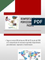 REIMPORTACIÓN POR PERFECCIONAMIENTO PASIVO