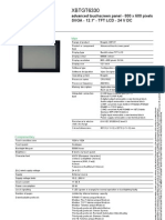 Catalogo XBTGT6330 (SCHNEIDER)