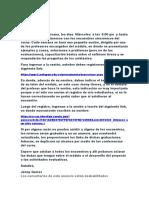 Instrucciones del profesor para el proyecto