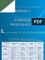 Clases de metodologia