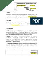 PRC-SST-016 Procedimiento Seguimineto y Mediciones Ambientales