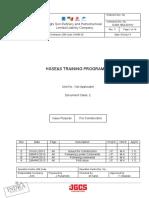 HSSE&S TRAINING PROGRAMME