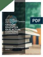 Estudio nacional de caracterizacion de la opinion de apoderadas y apoderados en relacion a la gestion educativa en el actual contexto de pandemia en Chile.pdf