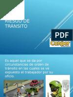 RIESGO DE TRÁNSITO DIAPOSITIVAS