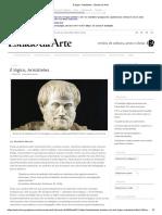 MURCHO, Desidério. É lógico, Aristóteles - Estado da Arte