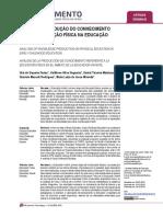 Análise da produção do conhecimento sobre Educação Física na Educação Infantil.pdf