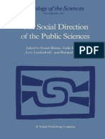 (Sociology of the Sciences 11) Stuart S. Blume (auth.), Stuart Blume, Joske Bunders, Loet Leydesdorff, Richard Whitley (eds.) - The Social Direction of the Public Sciences_ Causes and Consequences of .pdf