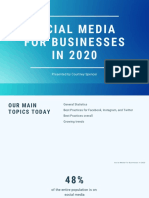 Social Media for Businesses in 2020