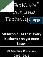 BABoK V3 Techniques.pdf