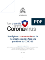 Stratégie Communication COVID-19 Haiti