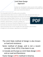 Limit State Design Approach
