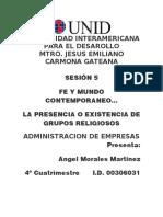FE Y MUNDO 5
