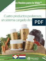 Mannatech Saba Cuatro Productos Poderosos (Español)