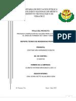 PROCESO E INSPECCION DE CALIDAD PARA LA FABRICACIÓN EN EL AREA DE FORMADO DE TUBOS Y MANGUERAS (FINAL 3).pdf