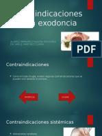 Contraindicaciones en una exodoncia
