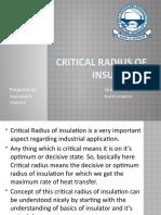 CRITICAL RADIUS OF INSULATION.pptx