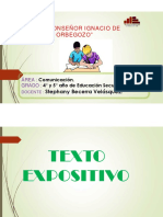 TEXTO EXPOSITIVO 4 y 5°