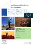 Climate Change and Developing Country Agriculture