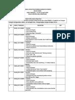 Jadwal Kegiatan Belajar Anak USAGI 13-25 April 2020
