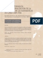 Ricardo Poenisch, La profesionalización de la Enseñanza de las Matemáticas en Chile, 1889 - 1930.pdf