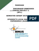 BP1 - Panduan SLME Semester Genap 2019-2020