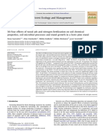 30-Year effects of wood ash and nitrogen fertilization on soil chemical properties, soil microbial processes and stand growth in a Scots pine stand