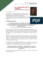 Simón Bolívar, comunicador de la libertad