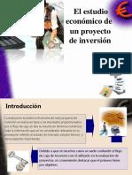 El estudio económico de un proyecto de inversión 5