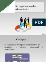 El estudio organizacional o administrativo 3