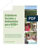 REDD+Social Environmental Standards 06-01-10 Spanish