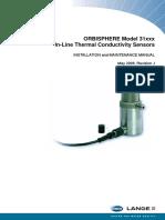 ORBISPHERE Model 31xxx TC Sensors Installation & Maintenance Manual.pdf