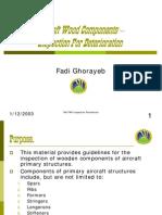 Aircraft Wood Components