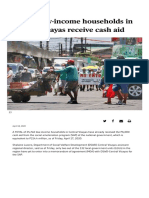 36,000 low-income households in Central Visayas receive cash aid - SUNSTAR