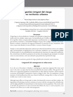 2013_Duque & Olaya La gestión integral del riesgo en territorios urbanos.